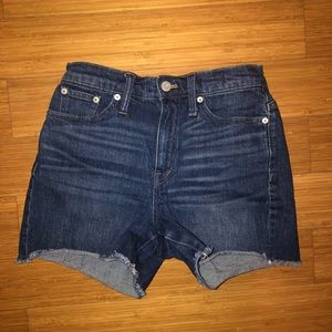 Madewell Shorts - Madewell high waisted shorts size 25